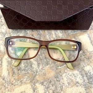 Gucci glasses with case made in Italy